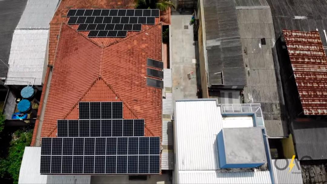 Implantação de Sistema Fotovoltaico residencial com capacidade de Geração 22.0 kWp